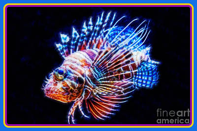 Glow Fish Glow Poster
