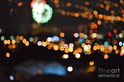 Glow In The Night Poster by Daniel Shearer