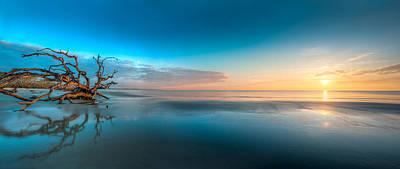 Glowing Dawn Panorama Poster