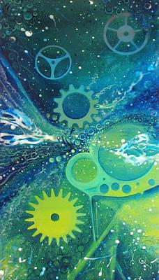 Glowing Interglaciation Poster