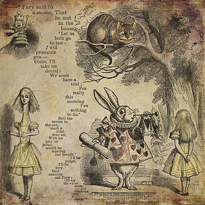 Go Ask Alice Poster by Diana Boyd