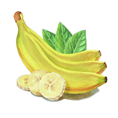 Go Bananas Still Life Poster