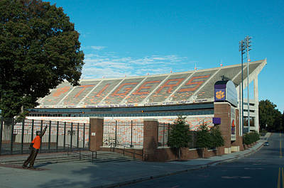 Go Clemson Poster by Blaine Owens Photography