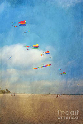 Poster featuring the photograph Go Fly A Kite by David Zanzinger