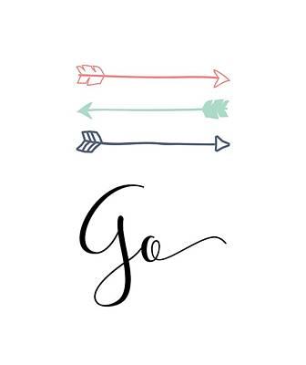 go Poster by Nancy Ingersoll