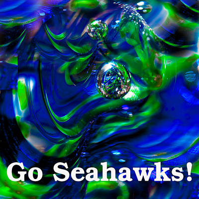 Go Seahawks Poster by David Patterson