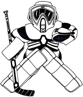Goalie Speeder Poster by Hockey Goalie