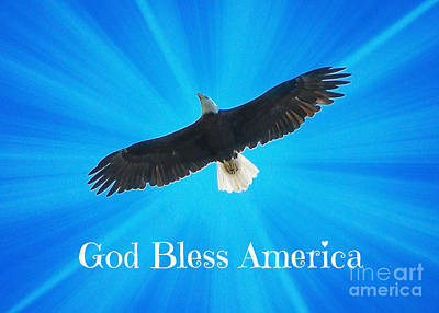 God Bless America  Poster by Carol Groenen