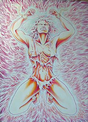 Goddess Breaking Chains Poster