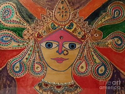 Goddess Durga Poster by Suman Kamath