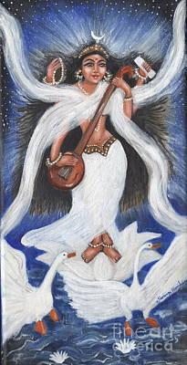 Goddess Of Arts Poster