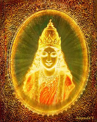 Goddess Of Light Poster