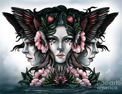 Goddess Of Magic Poster