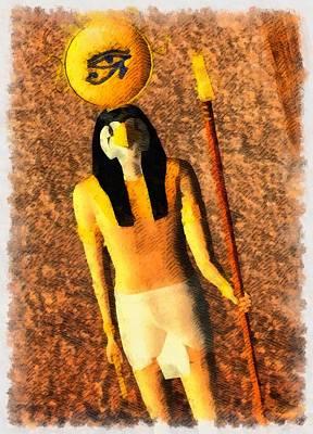 Gods Of Egypt - Horus Poster