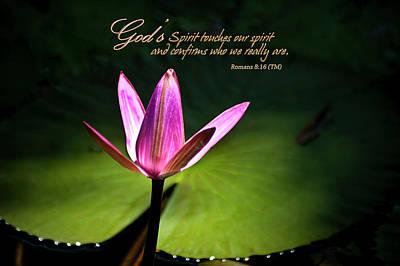 God's Spirit Poster