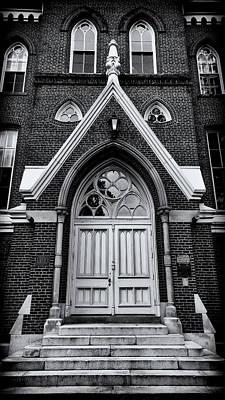 Godsey Administrative Building Door - Mercer University Poster