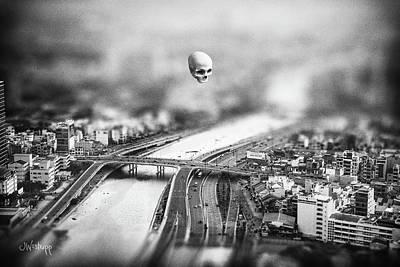 Poster featuring the digital art Godseye 2 by Joseph Westrupp
