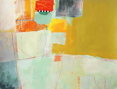 Going Around In Circles Poster by Jane Davies