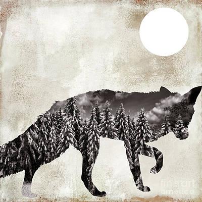 Going Wild Fox Poster