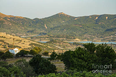 Gokceada Island Landscape Poster