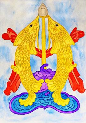Gold Abundance Poster by Iryna Goodall