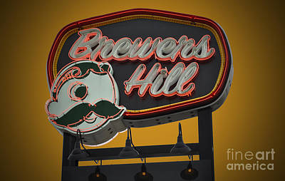 Gold Brewers Hill Poster by Jost Houk