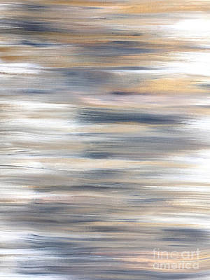Gold Coast #21 Landscape Original Fine Art Acrylic On Canvas Poster