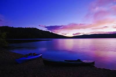 Gold Lake Sunrise Poster