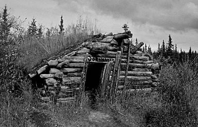 Gold Rush Cabin - Yukon Poster by Juergen Weiss
