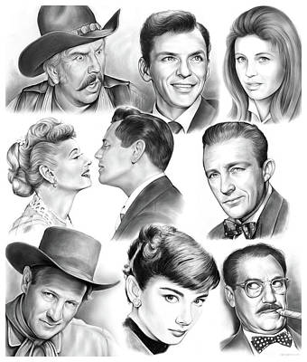 Golden Age Montage Poster by Greg Joens