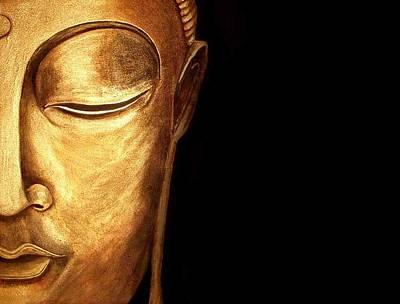 Golden Buddah Poster