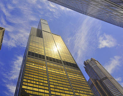 Golden Chicago Poster