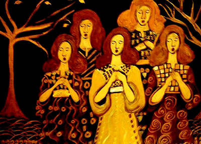 Golden Chords Poster