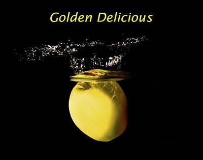 Golden Delicious Splash Poster by Terril Heilman