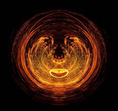 Golden Eye Poster by Pelo Blanco Photo
