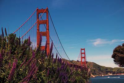 Golden Gate  Poster by Brendan Quinn
