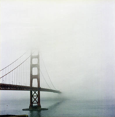 Golden Gate Bridge, San Francisco, California Poster by Tuan Tran