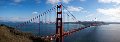 Golden Gate Bridge Viewed From Hendrik Poster by Panoramic Images