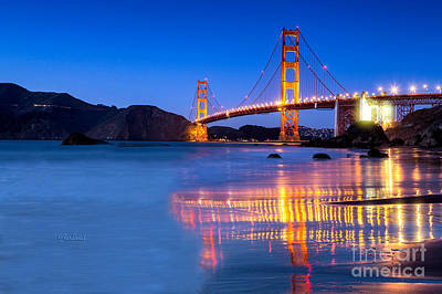Golden Gate Dreams Poster by Garland Johnson
