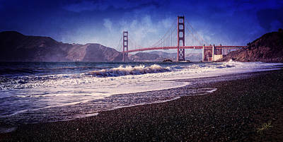 Golden Gate Poster by Everet Regal