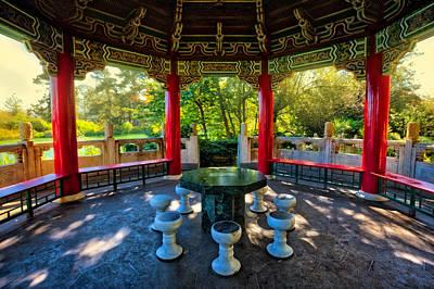 Golden Gate Park Chinese Pavilion #2 Poster by Jennifer Rondinelli Reilly - Fine Art Photography