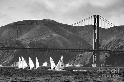 Golden Gate Seascape Poster