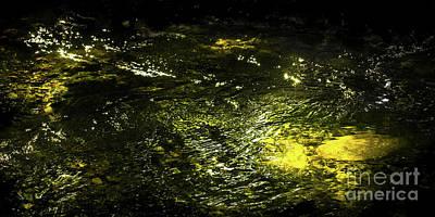 Golden Glow Poster by Tatsuya Atarashi