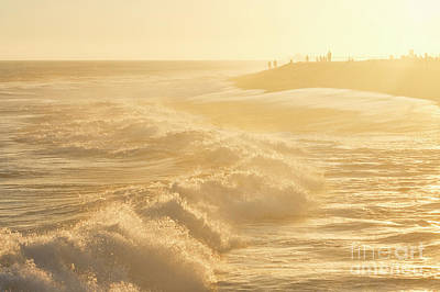 Golden Hour At The Wedge Poster