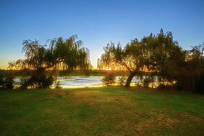 Golden Lake, Yanchep National Park Poster