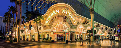 Golden Nugget Casino Entrance Poster by Aloha Art