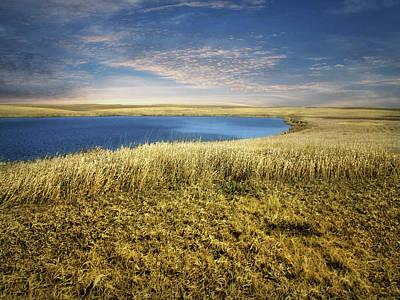 Golden Prairie Poster