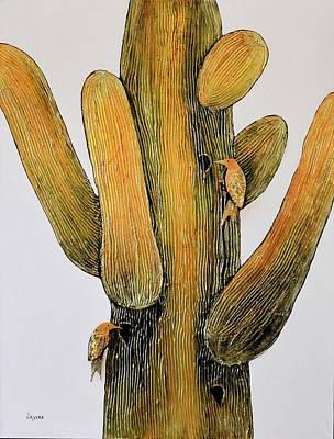 Golden Saguara Poster
