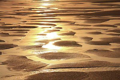 Golden Sands Poster by Roupen  Baker