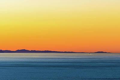 Golden Sunset Series I Poster